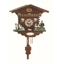Kuckulino Black Forest Clock Swiss House with quartz movement a.. TU 2032 PQ NEW