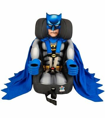 FACTORY NEW Kids Embrace Batman Toddler Booster Car Seat INTERNATIONAL SHIP