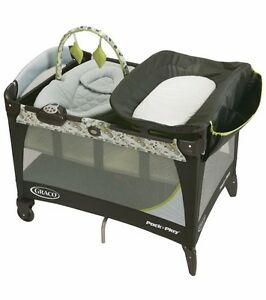 "Graco ""Pack n Play"" Play Pen with Newborn Napper Station"
