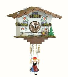 Kuckulino Black Forest Clock Swiss House with quartz movement a.. TU 2021 SQ NEW