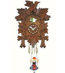 Kuckulino Black Forest Clock with quartz movement and cuckoo ch.. TU 2005 SQ NEW
