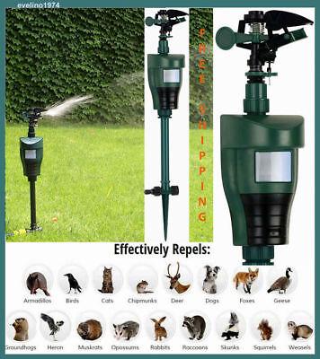 Sprinkler Motion Activated Animal Deterrent/Repellent,Water Spray,Scarecrow Away