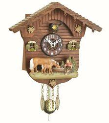 Kuckulino Black Forest Clock Swiss House with quartz movement a.. TU 2027 PQ NEW