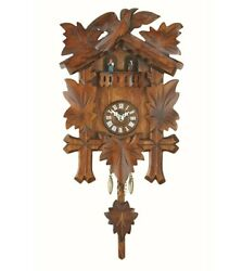 Kuckulino Black Forest Clock with quartz movement and cuckoo ch.. TU 2018 PQ NEW