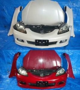 JDM Acura RSX DC5 Front End Conversion Type S Type R 2005 2006 Bumper Headlights Hood Fenders Grille Radiator Support