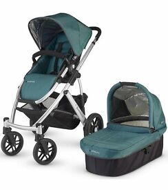 UPPABABY VISTA 2015 newest model stroller pram buggy with all accessories. LIKE NEW!