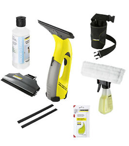 new genuine karcher wv50 window vacuum rechargable cleaner