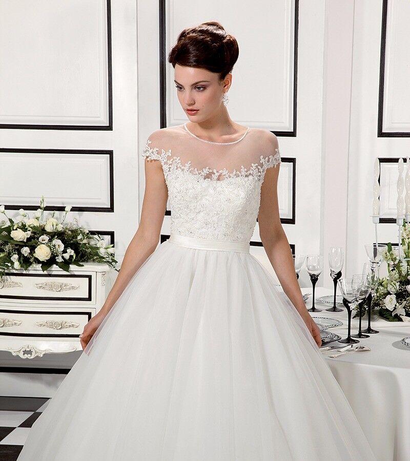 Stunning New Designer Wedding Dress By Italian Designer
