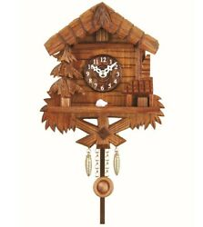 Kuckulino Black Forest Clock with quartz movement and cuckoo ch.. TU 2029 PQ NEW