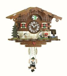 Kuckulino Black Forest Clock Swiss House with quartz movement a.. TU 2008 SQ NEW