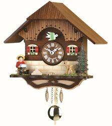 Kuckulino Black Forest Clock Black Forest House with quartz mov.. TU 2040 PQ NEW