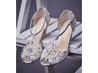 Embellished Lace Ivory Bridal Shoes Rachel Simpson Charlotte Size 39