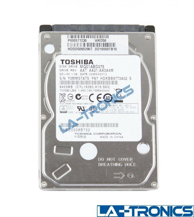 Toshiba 750GB 5400RPM Internal 2.5