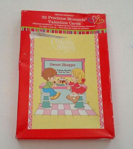 precious moments 32 small trading school  valentine cards  craft  mixed media