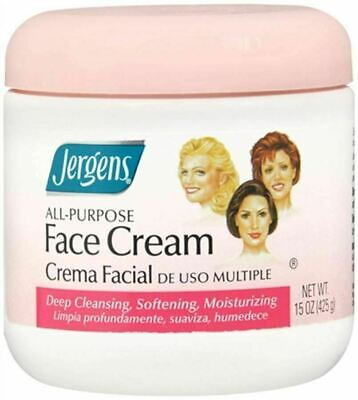 Jergens All Purpose Face Cream Cleanses Soothes Moisturizes - 15 oz