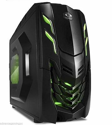 Amd Quad Core Gaming Pc Computer 4 0Ghz 2Tb New Fast Custom Built Desktop System