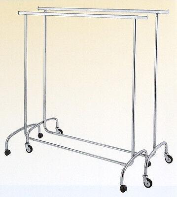 Textilständer Kleiderständer Rollständer 140-200cm - Top Qualität!