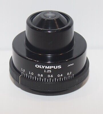 Olympus 1.25 Na Abbe Substage Condenser For Bh2 Microscope