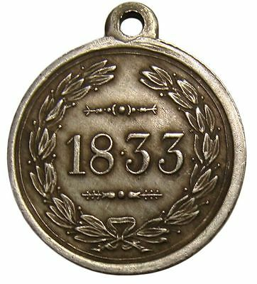 A300-16) Orden 1833 Jahre Medaille 29mm