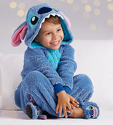 Kids Disney Store Lilo & Stitch Plush Suit Boys Girls Costume 2T, 7/8, or 9/10](Lilo Costumes)