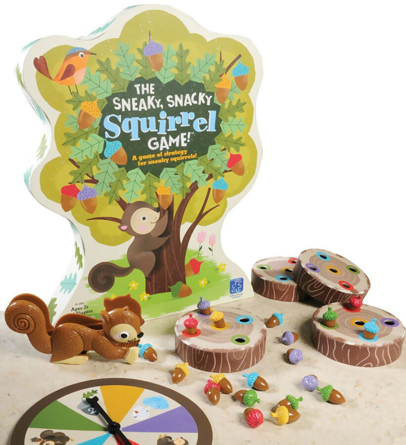 Educational Insights The Sneaky Snack Squirrel Game
