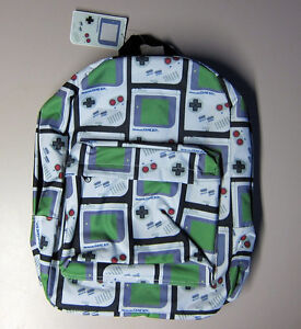 Nintendo Game Boy Printed Back Pack Woodville Charles Sturt Area Preview