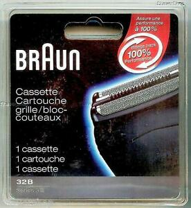 NEW-BRAUN-32B-SERIES-3-350cc-350-340-330-320-Shaver-Razor-FOIL-CUTTER-CASSETTE