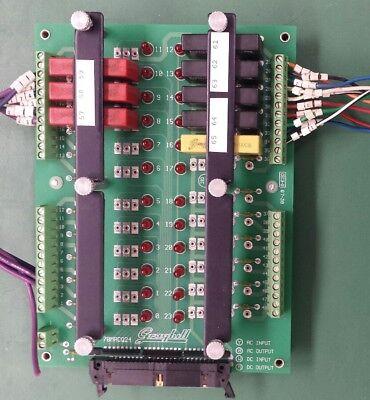 Electrovert Grayhill 70mrcq24 Io Relay Board With Relays Speedline Technologies