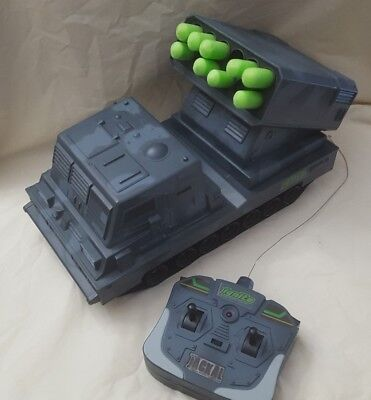 Ignite Radio Control The Jackal Mobile Missile Launcher UNTESTED parts or repair
