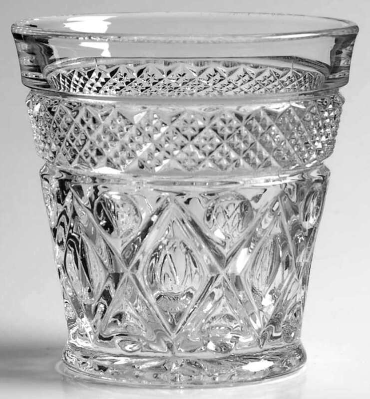 Imperial Glass-Ohio Cape Cod Clear  Old Fashioned Glass 236494