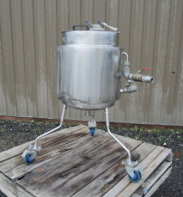 13 Gallon Jacketed Stainless Steel Tank