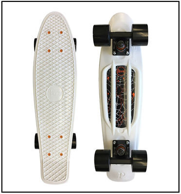 """PENNY 22"""" COMPLETE SKATEBOARD, Ghostly, Compact Size, Authentic Penny, **NEW**"""