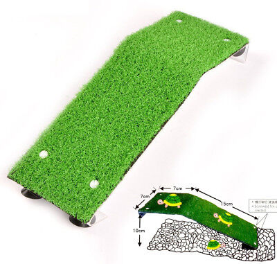 "8.7"" Reptile Turtle Pier Frog Floating Basking Platform Ramp Ladder Tank Decor"