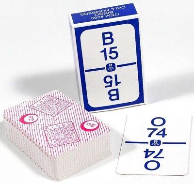 Regal Games Easy Read High Contrast Bingo Calling Card Deck