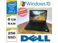 REFURBISHED - Dell Latitude 5490 i5-8350u 8gb Ram 256gb SSD Windows 10 Laptop