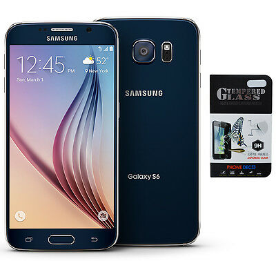 New Samsung Galaxy S6 Sm G920t Black T Mobile Gsm Network Unlocked At T   More