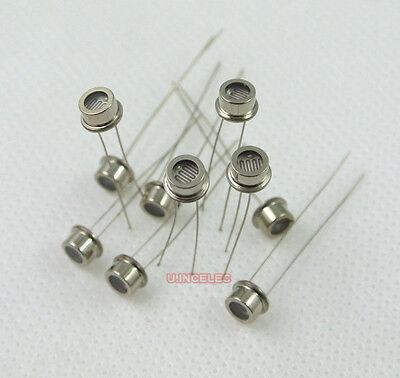 5515 Photoresistor Light Sensitive Photo Resistor Metal Shell X2pcs