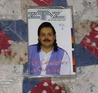 "Used, ZAAZ DE VICTOR HUGO RUIZ ""MIS FAVORITA TEXMEX ROMANTICAS TROPICAL RARE TAPE *NEW for sale  Eagle Pass"