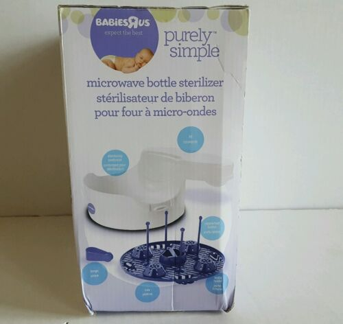 New Babies R Us Purely Simple Microwave Bottle Sterilizer Ship Fast W Tracking - $13.99