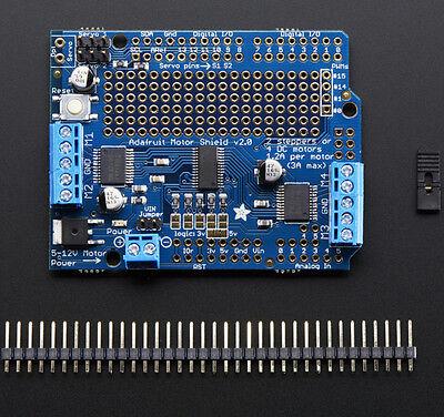 Adafruit Motorstepperservo Shield Fr Arduino Unomega Kit V2.3 1438