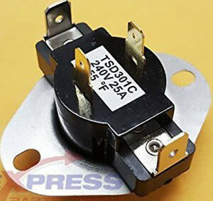 Dryer Cycling Thermostat WP3387134 Maytag 80 Series Whirlpool PS11741405 Kenmore