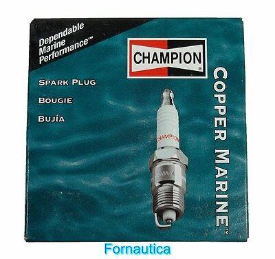 CANDELE CHAMPION QL78YC PER FUORIBORDO EVINRUDE JOHNSON usato  Arenella