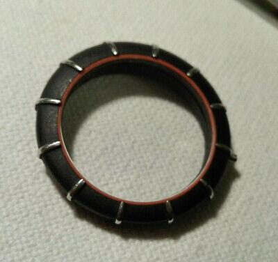 Bezel for Omega Dynamic Spider Quartz Watch - Model 1430 Black