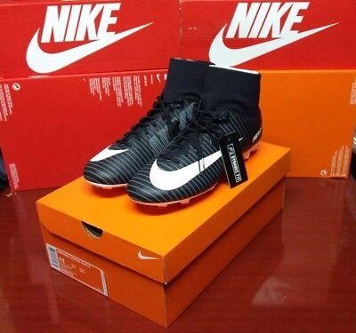 ddd70d09f7d Nike Mercurial Victory VI DF FG Soccer Cleats Black Gray White SZ 11  903609-002
