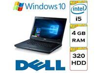 BARGAIN - Dell Latitude e6410 i5 2.6 Ghz 4gb Ram 320gb HDD Windows 10 Laptop