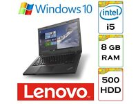 EXCELLENT / A+ / Lenovo Thinkpad L460 i5 8gb Ram 500gb HDD Windows 10 Laptop - Only 18 Months Old.