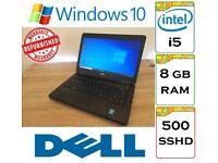 REFURBISHED - Dell Latitude E5440 Intel Core i5 8gb Ram 500gb SSHD Windows 10 Laptop