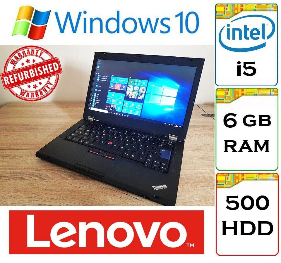 Lenovo Thinkpad T420 i5 6gb Ram 500gb HDD Windows 10 14 inch Laptop  Notebook | in Thornliebank, Glasgow | Gumtree