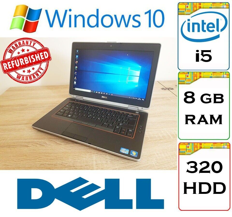 BARGAIN: Dell Latitude E6420 i5 8gb Ram 320gb HDD Windows 10 Laptop  Notebook | in Thornliebank, Glasgow | Gumtree