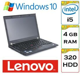 BARGAIN - Lenovo Thinkpad x230 i5 2.5Ghz 4GB Ram 320gb HDD Windows 10 Laptop